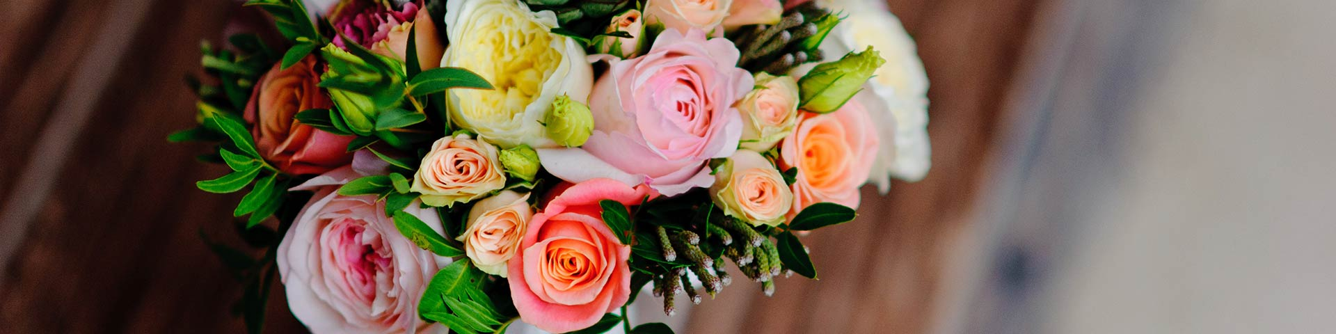 Flower Arrangement & Bridal Bouquet