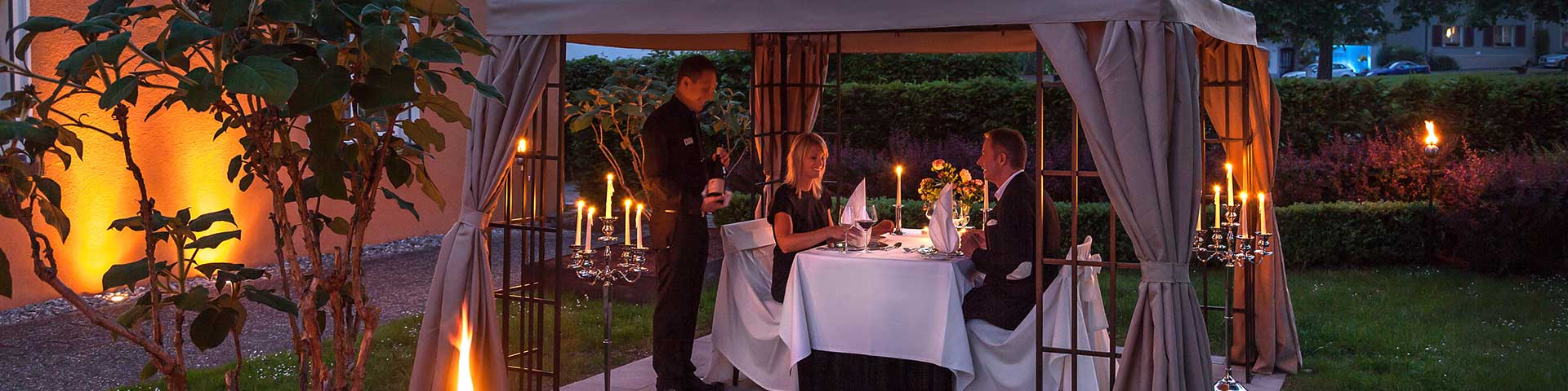 Ihr romantisches Candlelight Dinner